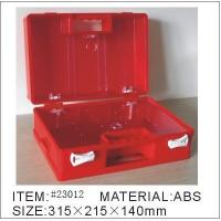 Wholesale OEM Emergency Standard Red ABS Custom First Aid Kits Box from china suppliers