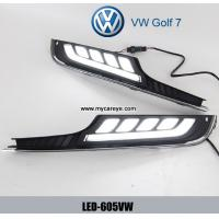 Wholesale Volkswagen VW Golf 7 DRL LED light Daytime driving Lights Car daylight from china suppliers