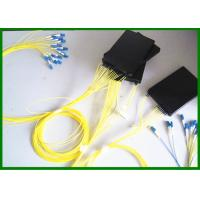 Wholesale LC / PC 2*8 Planar Lightwave Circuit PLC Splitter For FTTX CATV System from china suppliers
