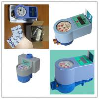Wholesale Touchless Prepaid Smart Household Water Meter With Brass Valve Control from china suppliers