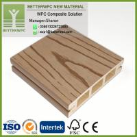 Wholesale China Supply 100*25 Wood Plastic Composite Boards Profile Deck 3D Embossed Waterproof WPC Floor from china suppliers