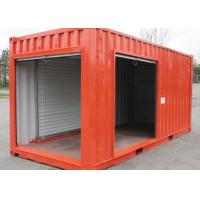 Buy cheap Modified Shipping Container Home Temporary Storage Containers With Steel Pull Down Door from wholesalers