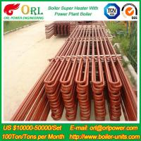 Wholesale 80MW Petroleum Industry CFB Boiler Superheater OEM TUV Superheater In Boiler from china suppliers