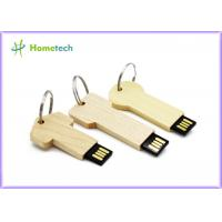 Wholesale keychain High Speed Usb Flash Drive , Personalised wooden usb sticks gift from china suppliers