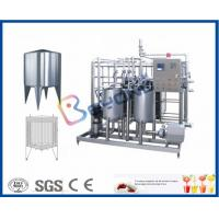 Wholesale Plate Type Small Scale Pasteurization Equipment , Yoghurt Dairy Milking Equipment from china suppliers