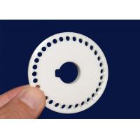 Wholesale Wear Resistance Al2o3 Ceramic Disc For Automatic Dispenser Electrical Insulation from china suppliers