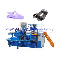 Wholesale Women Flat jewelry sandal making machine ,  PVC heel jelly shoes injection molding machine from china suppliers