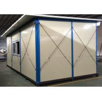 Wholesale Polyethylene Foam Housing Sandwich Foldable Panel Prefab Green Homes After-disaster from china suppliers