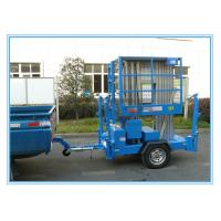 Quality 10m Hydraulic Truck Mounted Aerial Lift Dual Mast For Outdoor Maintenance Work for sale