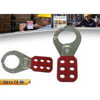 Wholesale ZC-K21 Economic Steel Lockout Hasp 6 Prying Resistant Hook ABS Coated Body from china suppliers