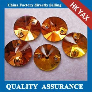 Wholesale decorative sew on glass rhinestone,sew on rhinestone diamond shape,sew on rhinestone from china suppliers