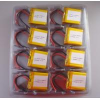 Wholesale 3.7V 640mAh Li-Polymer Battery Pack 434041 from china suppliers