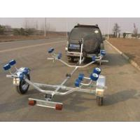 Wholesale Easy Take Two Axle Boat Trailer , 4.5m Foldable Boat Trailer For Inflatable Boats from china suppliers