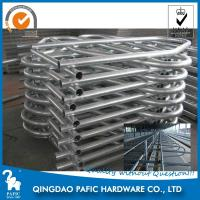 Wholesale Hot-Dip Galvanized Steel Tube Cattle Free Stall For Dairy Farm 4m Length from china suppliers