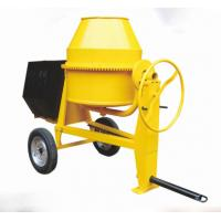 Wholesale small portable concrete mixer  for sale electric diesel driven 500L 600L with wheels from china suppliers