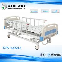 Wholesale Mobile Manual Home Hospital Beds 3 Functions With Aluminium Side Rails from china suppliers