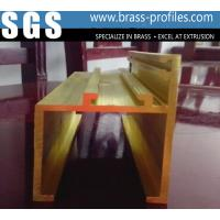 Wholesale New Decorative  Extrusion Brass Window Channel Customized Profiles from china suppliers