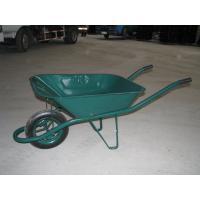 Wholesale solid wheelbarrow hand trolley truck garden tool cart dump cart rubber wheel bike trailer from china suppliers