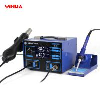 Wholesale LCD Display 2 In 1 Soldering Station , YIHUA 992D Rework Station from china suppliers