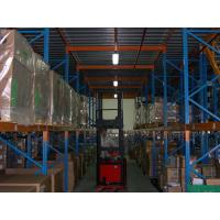 Wholesale Industrial Heavy Duty Pallet Rack Spray Painting with Mezzanine Floors Stock from china suppliers