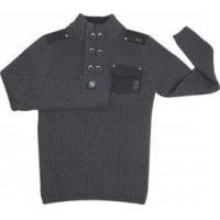 Buy cheap Semi-breasted Sweaters Double-breasted Knitted Sweater from wholesalers