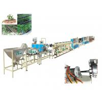 Wholesale PE Round Drip Irrigation Pipe Production Line for Greenhouse / Open Field from china suppliers