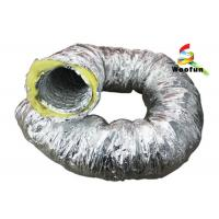 Wholesale Aluminum Foil Insulated Fiberglass Insulated Flexible Ducting For Air Conditioning from china suppliers