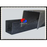 Wholesale U Shape Carbon Fiber Plate , 1MM Thickness Rigid Carbon Fiber Angle from china suppliers