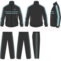 Wholesale Women Volleball Children - Adult Silk Screen Printing Polyester Tracksuits Sportswear from china suppliers