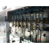 Wholesale Electric Auto Linear Filling Machine , Oil Bottle Filling Machine High Speed from china suppliers
