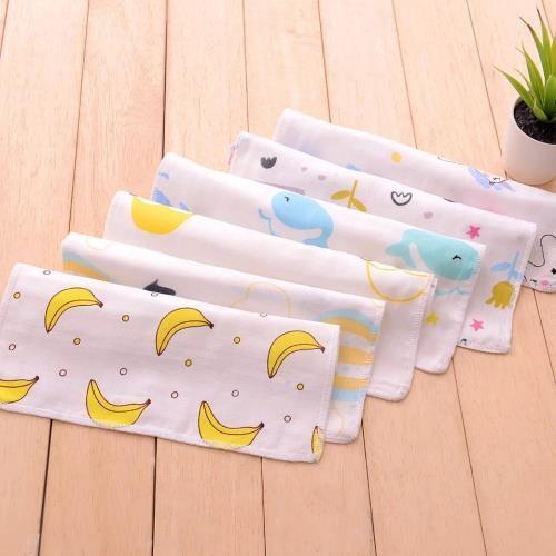 Quality Mini Pure Cotton Handkerchiefs No Dye Face Cloths Safe For Sensitive Skin for sale