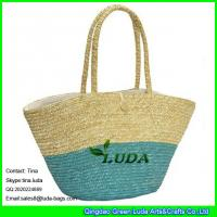 Wholesale LUDA  wholesale fashional wheat straw women shopping bags from china suppliers