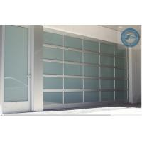 Industrial sectional door for garage transparent for Sectional glass garage door