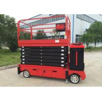 Wholesale 6-11M Electric Self - propelled Scissor Lift / Aerial Work Platform 300KG Lift Capacity from china suppliers