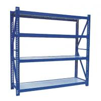 Wholesale Adjustable Medium Duty Storage Rack , Industrial Warehouse Shelving Systems from china suppliers