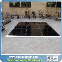 Buy cheap portable dance hall white dance floor with high quality cheap portable wooden dance floor from wholesalers