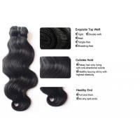 Wholesale factory price grade 8a 3 bundles weave 24 inch virgin brazilian remy hair weft from china suppliers