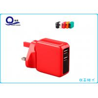Wholesale QC2.0 Quick Charge Universal Power Charger Adapter Dual USB Ports Compact Design from china suppliers