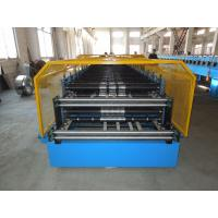 Wholesale Customerized Double Layer Roll Forming Machine 0.4 - 0.8mm Thickness from china suppliers