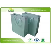 Wholesale Paperboard Material Pantone Color Paper Gift Bags with HandlesLOGO Custom from china suppliers