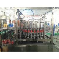Wholesale Aluminum Sealing Carbonated Beverage Beer Can Filling Machine with CSD 40 Heads from china suppliers
