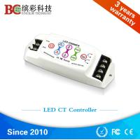 Wholesale DC5V DC24V 8A 2 channels Touch Panel LED CCT Controller; Color Temperature dimmer from china suppliers