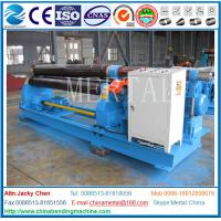 Wholesale Three roller plate bending machine,plate rolling machine export,Hydraulic symmetric,mechanical 3-roller from china suppliers