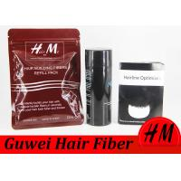 Wholesale Bottle Type Artificial Hair Powder , Cotton Keratin Hair Fibres For Stylists from china suppliers