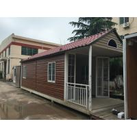 Wholesale Fabrication Steel Structure Villa , Q235B / Q345B Painting Residential Prefab Steel House from china suppliers