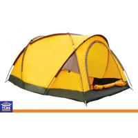 Wholesale Yellow Double / Single Laye Custom Tents Heavy Duty Camping Tents for Family from china suppliers