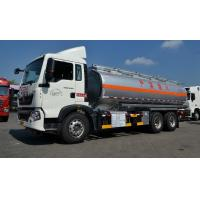 Wholesale 22cbm Fuel Oil Delivery Truck with 336 Hp engine , RHD optional Oil Tank Trailer from china suppliers