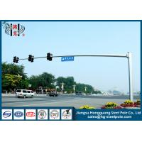 Wholesale Weather Resistance Octagonal Traffic Signal Pole Hot Dip Galvanization from china suppliers