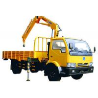 Wholesale Durable Knuckle Boom Truck Mounted Crane, Wire Rope Raise And Down 3200 kg from china suppliers