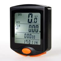 Wholesale Wired Multi-function LCD Back-light Bicycle Computer Speedometer from china suppliers
